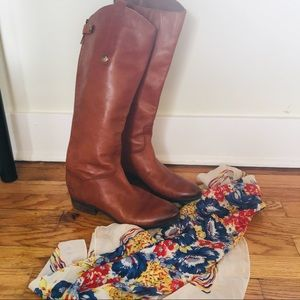 Sam Edelman 8.5 Penny Riding Boots Tall Leather